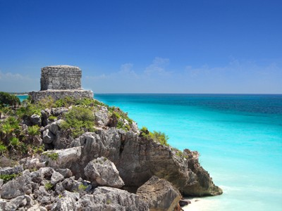 http://www.dreamstime.com/stock-photos-mayan-ruin-tulum-near-cancun-mexico-image13515603