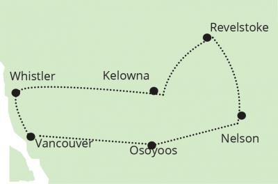 AUTH - Discover Canada - BC Interior map