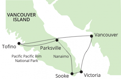 AUTH- Discover Canada - Vancouver Island map